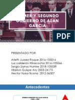 GOBIERNO Alan Garcia