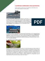 Unidad 3.7 Lectura Problemas Ambientales