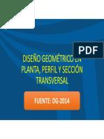 01 Diseño Geomtrico en Planta, Perfil