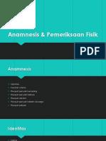 Anamnesis & PF