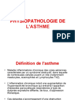 Physiopathologie de l'Asthme