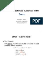 MSN 3 ErrosPropagacao