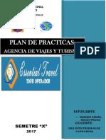 Informe de Agencias de Viaje