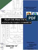 Plan de Practicas Agencias de Viaje II Decimo