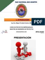 I. Introducción a Formulación y Evaluación de Proyectos