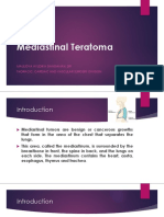Mediastinal Teratoma