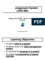 1.4 OSH-Management System