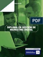 Currícula sobre diplomados  en marketing  digital