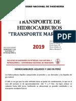 TRANSPORTE DE HIDROCARBUROS MARÍTIMOS