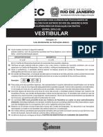 Vestibular Faetec 2019