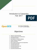 Introduction to Cassandra
