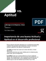 Actitud vs. Aptitud OK