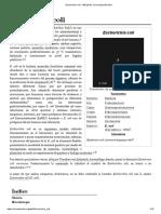 Escherichia Coli - Wikipedia, La Enciclopedia Libre