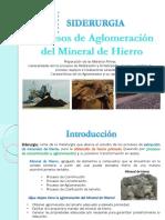 Sid_homog y Aglom Del Mineral de Hierro