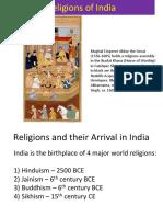 Religions India