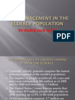 5 Pain Management in the Elderly Population
