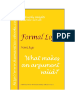 Lógica Formal.