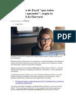 10 funciones de Excel que todos deberíamos aprender  según la Universidad de Harvard.docx