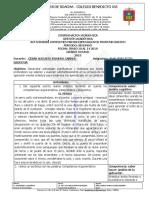 ACES DE PROFUNDIZACIÓN 9° II P INGLES 2019