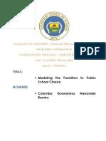 Modelamiento multiagentes Escuela