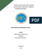 Agrometeorologia Mauricio