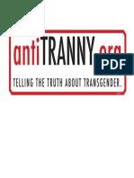 AntiTRANNY Logo