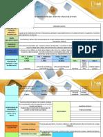 Matriz de Proyección Del Plan de Vida Colectivo.