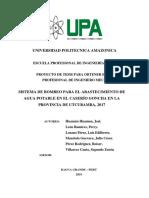 UPA (Sistema de Bombeo)