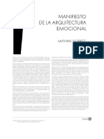 Manifiesto de Arquitectura Emocional