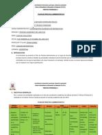 Plan de Práctica Administrativa