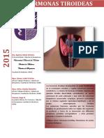Hormonas Tiroideas 2015