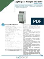 Manual Do Usuario Temporizador Digital Para Fixacao Em Trilho 20181217045837