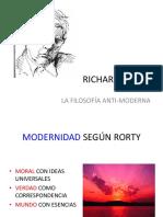 Richard Rorty clase de filosofia