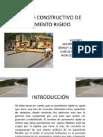 Proceso Constructivo de Pavimento Rigido