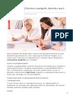 Conversadeportugues.com.Br-Produção Textual Estruture o Parágrafo Aprenda o Que é o Tópico Frasal