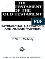(Overtures to biblical theology) Name. Jahwe_ Moberly, R. W. L. - The Old Testament of the Old Testament _ patriarchal narratives and Mosaic Yahwism-Fortress Press (1996).pdf