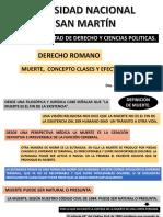 2da Clase de Derecho Romano