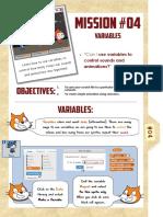 Scratch code variables & repeats