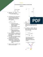 Talller de Mejoramiento de Primera Ley de Newtons Periodo 2