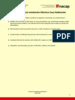 Restricciones_Proyecto de Instalaciones Eléctricas I_ Curso 403EI