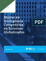 2-Máster en Inteligencia Competitiva en Entornos Globalizados