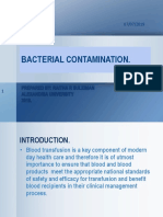 13. Bacterial Contamination