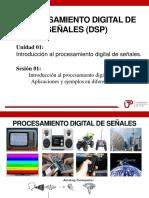 Introducción Al Procesamiento Digital de Señales. Aplicaciones y Ejemplos en Diferentes Sectores