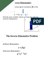 Robotics - Inverse Kinematics