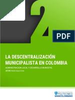 Descentralización Municipal