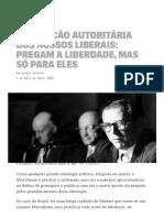 Noticia - A Tradicao Autoritaria Dos Nossos Liberais