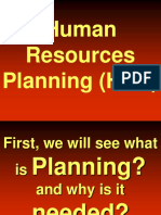 Hr Planning Lecture