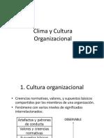 Clima y Cultura