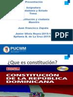 Ciudadanía y  constitución