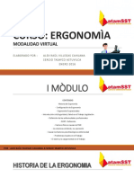 CURSO ERGONOMIA 1